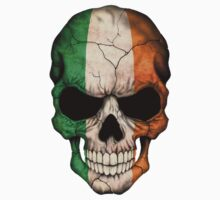 Irish Flag Skull by Jeff Bartels