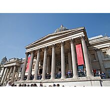The National Gallery in Trafalgar Square London Photographic Print