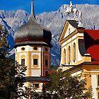 The abbey of Stams in Tyrol Austria by Elzbieta Fazel