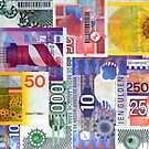 Dutch money from the Gulden Time by Arie Koene