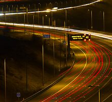 light trails  by chris2766