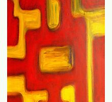 ABSTRACT OIL PAINTING 469 by pjmurphy