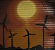Windmill by StreetArtCinema