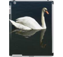 Swan Reflection iPad Case/Skin