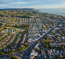 Aerial Newport Beach,California by Timothyoleary