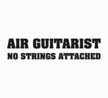 Air Guitarist No Strings Attached by BrightDesign