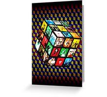 Rubik TV Greeting Card