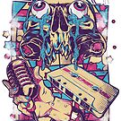 Retro Skull Rock! by Arek619