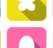 My Little Pony - Mane Six Flat Icons 2.0 Sticker