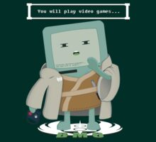 Jedi Mo: You will play video games... by Fu-Man-Chu