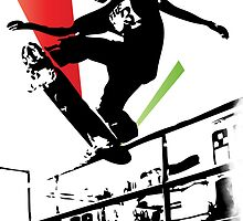 Skateboard Grind by mamisarah