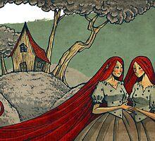 Sister's by gigaillustrator