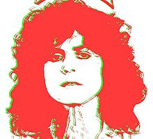 Marc Bolan 'Registration Print' by LetThemEatArt