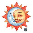 The Sun and the Moon by Antonella Silvi