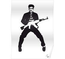 Rockin Elvis Poster