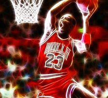 Magical Michael Jordan by finalscore