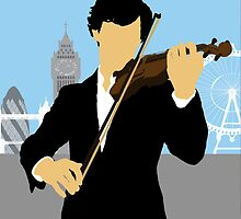 Minimalist Sherlock Violin Piece by cdemps