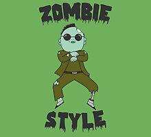 Zombie  Style by newcris