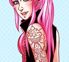 Princess Bubblegum by Maxxie-Delu