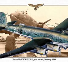 Focke Wulf Fw 200C-5 by A. Hermann