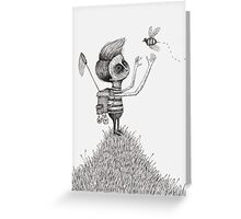 The Bug Collector Greeting Card