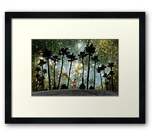 Paradise Galaxy Dream Framed Print