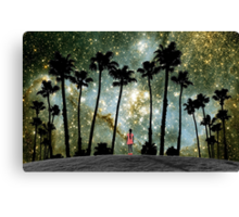 Paradise Galaxy Dream Canvas Print