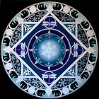 The White Goddess Mandala by Marg Thomson by fullcirclemandalas  is Marg Thomson