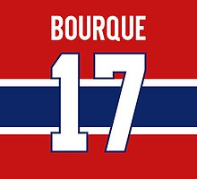Montreal Canadiens René Boruque Jersey Back Phone Case by Russ Jericho