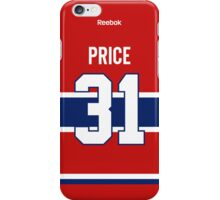 Montreal Canadiens Carey Price Jersey Back Phone Case iPhone Case/Skin