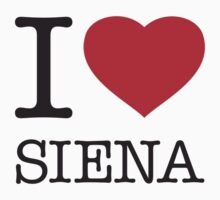 I ♥ SIENA by eyesblau