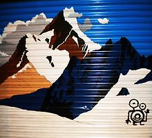 Serre Chevalier by StreetArtCinema