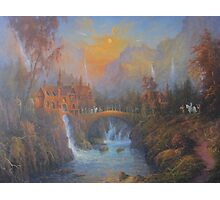 Farewell To Rivendell (The Passing Of The Elves ) Photographic Print