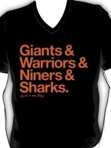 Loyal to the Bay - San Francisco (Orange Print) T-Shirt