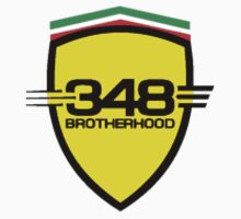 Ferrari 348 Brotherhood / Color / Small Shield  by Ferraridude