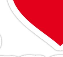 I ♥ LUCCA Sticker