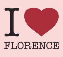I ♥ FLORENCE Kids Clothes