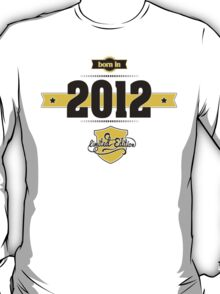 Born in 2012 (Choco&Yellow) T-Shirt