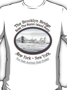Brooklyn Bridge For Sale T-Shirt