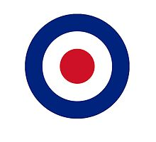 RAF Royal Air Force roundel; British pure & simple by TOM HILL - Designer
