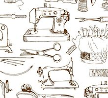 Sewing tools, vintage by SolomatinaY