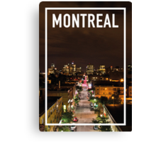 MONTREAL FRAME Canvas Print