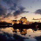 Eilean Donan Castle by Frank Kletschkus