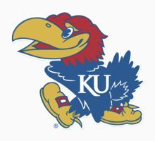 "College University ""Kansas Jayhawks"" Sports Baseball Basketball Football Hockey by artkrannie"
