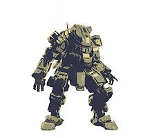 Green Big Titan Robot Video Game Design by CooliPhones