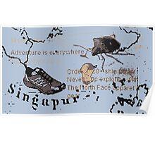 adventures in Singapore Poster