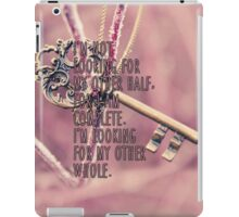 Other Whole Quote iPad Case/Skin