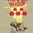 The 8 bit invasion by Budi Satria Kwan
