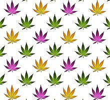 Marijuana Leaves Pattern by cnstudio