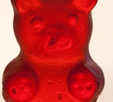 red gummy bear by c-chenard